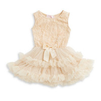 Brands | Baby Girls | Baby Girls Rosette Popover Dress | Lord and Taylor