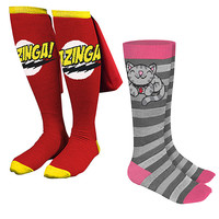 Big Bang Theory Knee High Socks