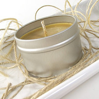 Scented Soy Candle - Cinnanut Columbian Cafe scented Soy Candle -- 4 ounce Tin