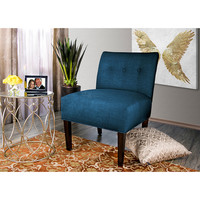 MJL Furniture Samantha Largo Button Tufted Accent Chair | Overstock.com Shopping - The Best Deals on Living Room Chairs