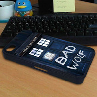 dr who bad wolf for Design Custom Blackberry case and iPad Mini case and Samsung S3 mini case and  phone case