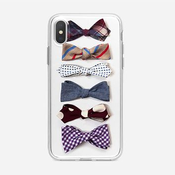 Bow Ties iPhone X Case
