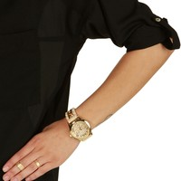 Natural Big Time Chain Link Watch