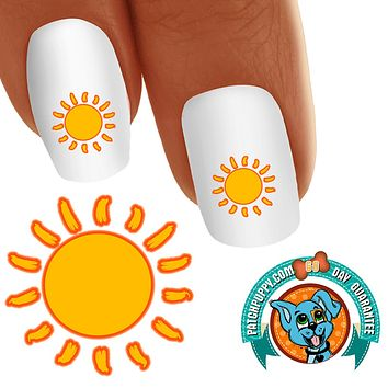 Summer Sun Nail Art Decals (Now! 50% more FREE)