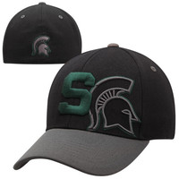 Top of the World Michigan State Spartans Idol One-Fit Flex Hat - Black