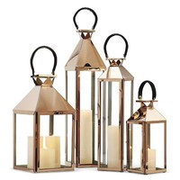 Rose Gold Lanterns