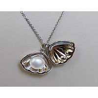 Pearl in Shell Pendant P052