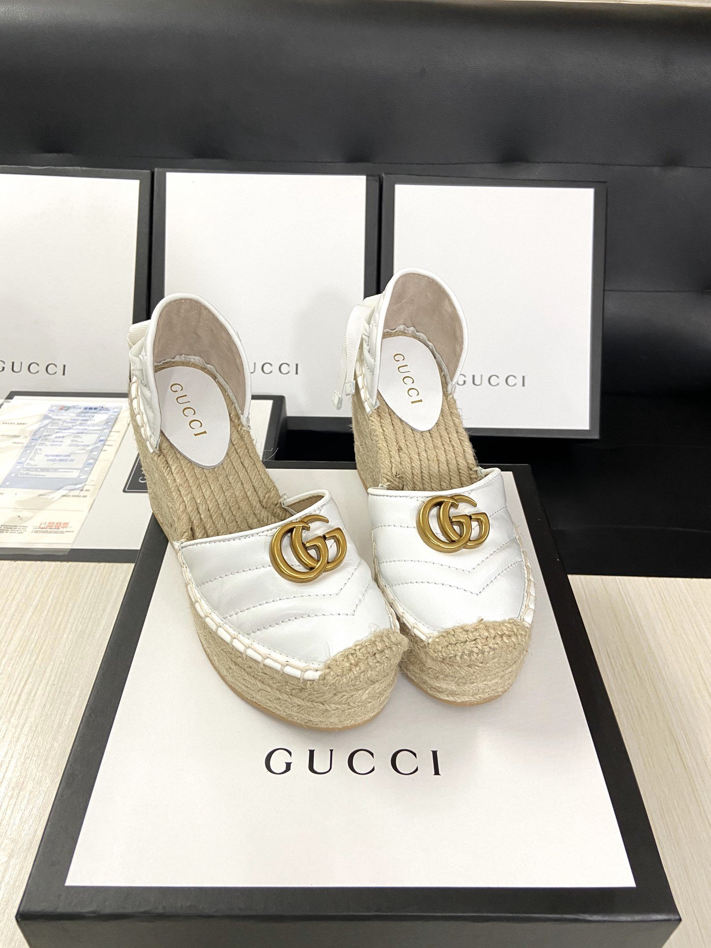 Image of Gucci2021 Women Casual Shoes Boots fashionable casual leather0601gh