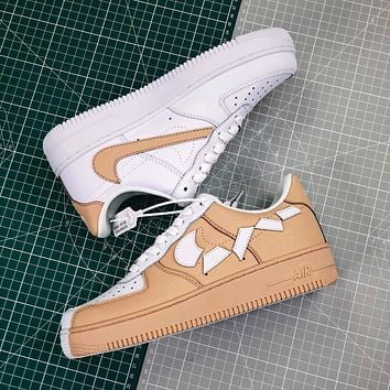 Hot Nike Air Force 1 Low Af1 White/khaki