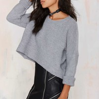Mandi Crop Sweater