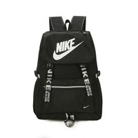 NIKE Casual Laptop Bag Shoulder School Bag Sport Backpack Black
