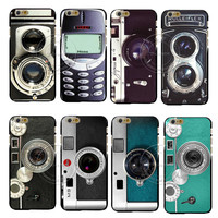 New Arrival Super Hot Camera Style Old Phone 3310 Funny Designs Luxury Hard Case Cover For Apple iPhone 6 6S