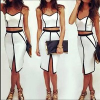 Hot Two Piece Dress