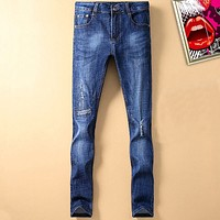 Dior Fashion Casual Men Pants Trousers Jeans