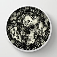Victorian Gothic Wall Clock by Kristy Patterson Design