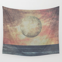 Restless moonchild Wall Tapestry by HappyMelvin | Society6