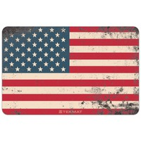 """Old Glory - American Flag Gun Cleaning Mat - 11"""" x 17"""" Oversized Workarea"""