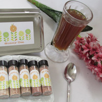 Father's Day Sunny Tea Gift Set ~ Flavored Ice tea ~ Tea party hostess idea birthday bridal shower godfather dad son present for Graduation