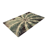 """Angie Turner """"Cactus"""" Plant Woven Area Rug"""