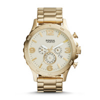 Nate Chronograph Gold-Tone Stainless Steel Watch