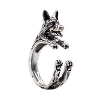 Adjustable German Shepherd Ring