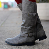 Low Rider Boots {Grey}