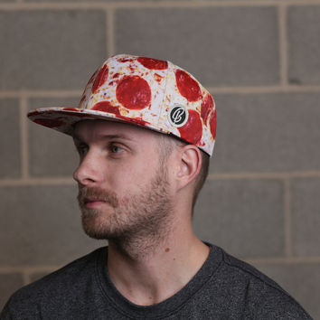 Pizza Snapback Hat