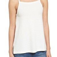 Madewell High Neck Cotton Tank   Nordstrom