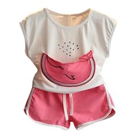 Abacaxi Kids Watermelon Girls Outfit 2-6Y