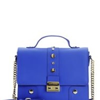 BRENTWOOD LEATHER FLAP CROSSBODY