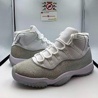 Nike Air Jordan 11 AJ11 Classic High-Top Basketball Shoes Fashion Men's and Women's Casual Sneakers 5