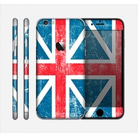 The Scratched Surface London England Flag Skin for the Apple iPhone 6
