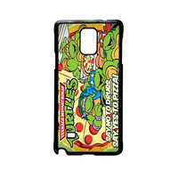 TMNT Ninja Turtle Say Yes To Pizza For Samsung Galaxy Note 2/Note 3/Note 4/Note 5/Note Edge Phone case ZG
