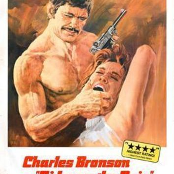 Rider On The Rain Charles Bronson movie poster Sign 8in x 12in