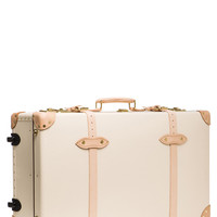 "30"" Safari Suitcase with Wheels in Ivory & Natural"