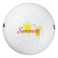Sunny Day Pack Of Golf Balls