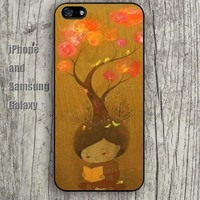 hair tree life colorful iphone 6 6 plus iPhone 5 5S 5C case Samsung S3,S4,S5 case Ipod Silicone plastic Phone cover Waterproof