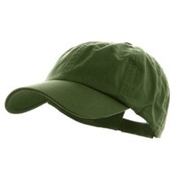 Low Profile Dyed Cotton Twill Cap - Cactus W36S53F