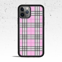 Plaid Pink Phone Case Cover for Apple iPhone Samsung Galaxy S & Note