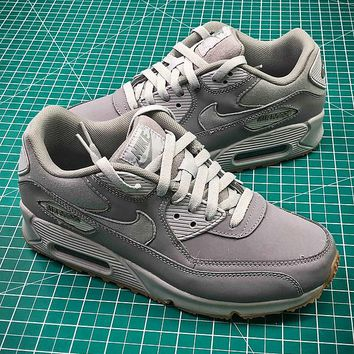 Nike Air Max 90 Grey Sport Running Shoes - Best Online Sale
