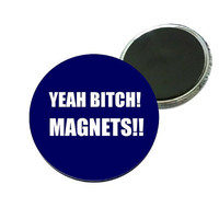 Magnet - Breaking Bad Yeah Bitch Magnets Image - font