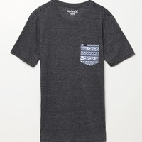 Hurley Horizon Pocket T-Shirt - Mens Tee - Grey