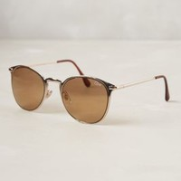 Midsummer Sunglasses by Anthropologie Gold One Size Eyewear