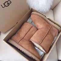 UGG Fashion warm snow boots-1