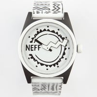 Neff Daily Wild Watch White Zag One Size For Men 24030612501