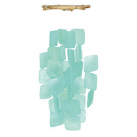 Windchime – Square Turquoise   Candy's Cottage
