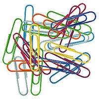 Fashion Paper Clips Assorted Sizes Assorted Colors Pack Of 60 by Office Depot & OfficeMax