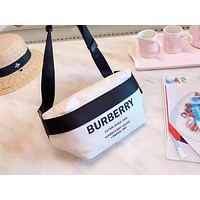 Burberry fashionable canvas worn across the waist for both men and women