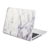 White Marble Pattern Hard Shell Case Cover for Macbook Pro/ Air/Retina 13 inch 15 inch
