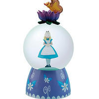 Disney Alice In Wonderland Alice Water Globe